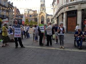Frack free York demo